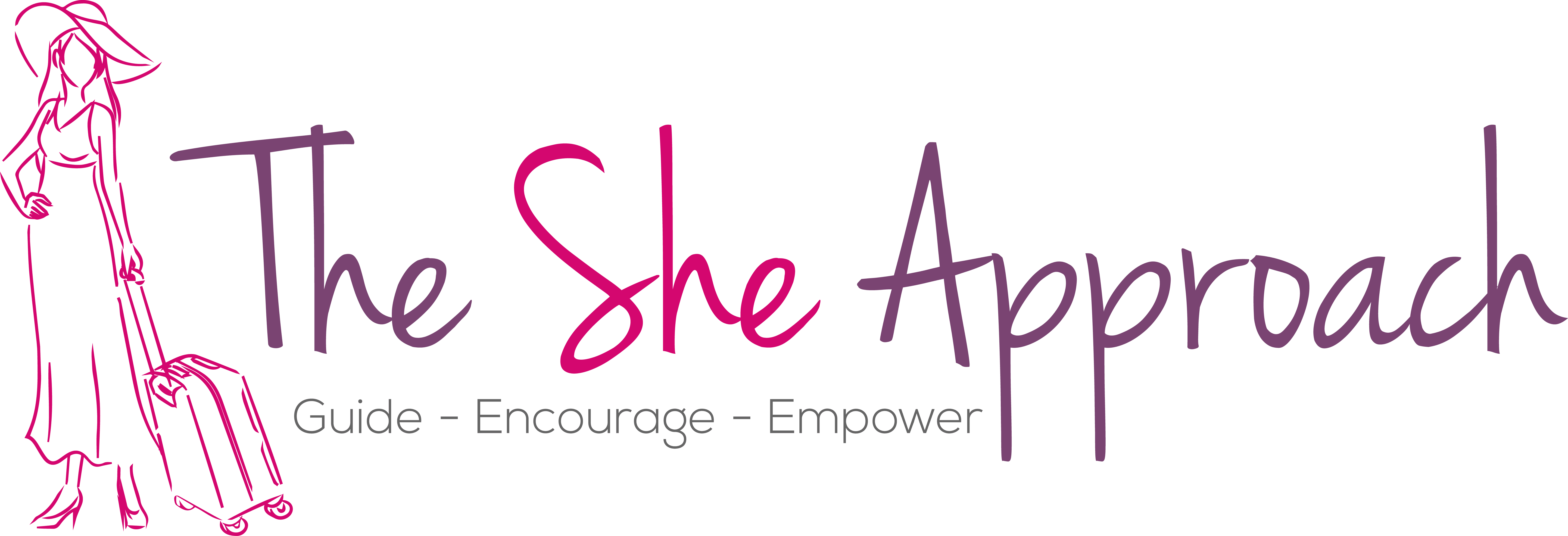the_she_approach-fivver-logo-designer