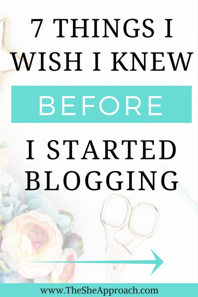 Interested in starting your own blog? Here are 7 things I learnt from my own experience and 7 things that you need to know before you start a blog!