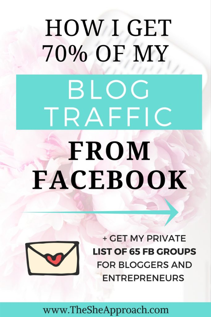 Struggling to grow your blog's audience? Read my best tips on how to get your blog traffic from Facebook and connect with your target readers. Social media tips for bloggers.