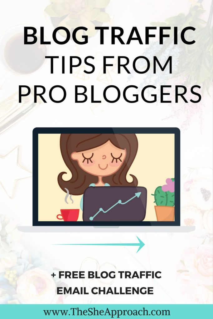 Struggling to get people to read your blog? I interviewed top bloggers and got their best blog traffic tips that you can implement starting today!