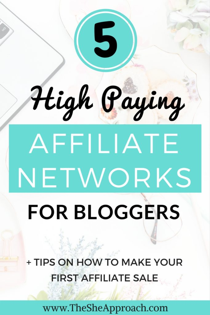 Are you serious about making money blogging and want to tap into #affiliatemarketing? Here are my top 5 high-paying affiliate programs recommendations for bloggers! #affiliateprograms #affiliatemarketingtips