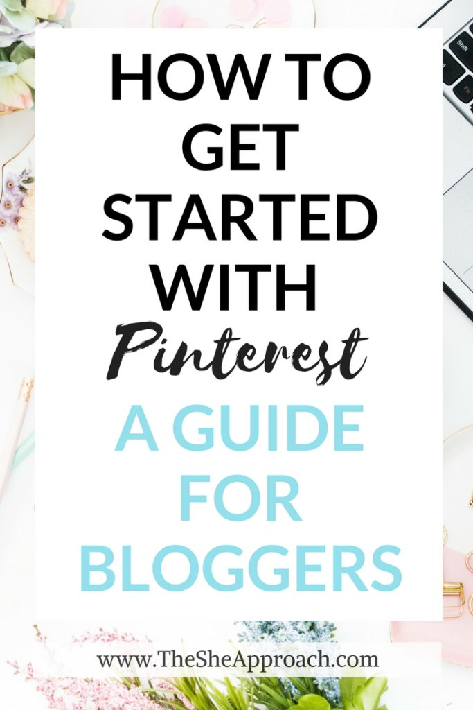 How to get started with Pinterest - The ultimate guide to mastering Pinterest and increasing your blog traffic for new bloggers. Read about my Pinterest strategy here!