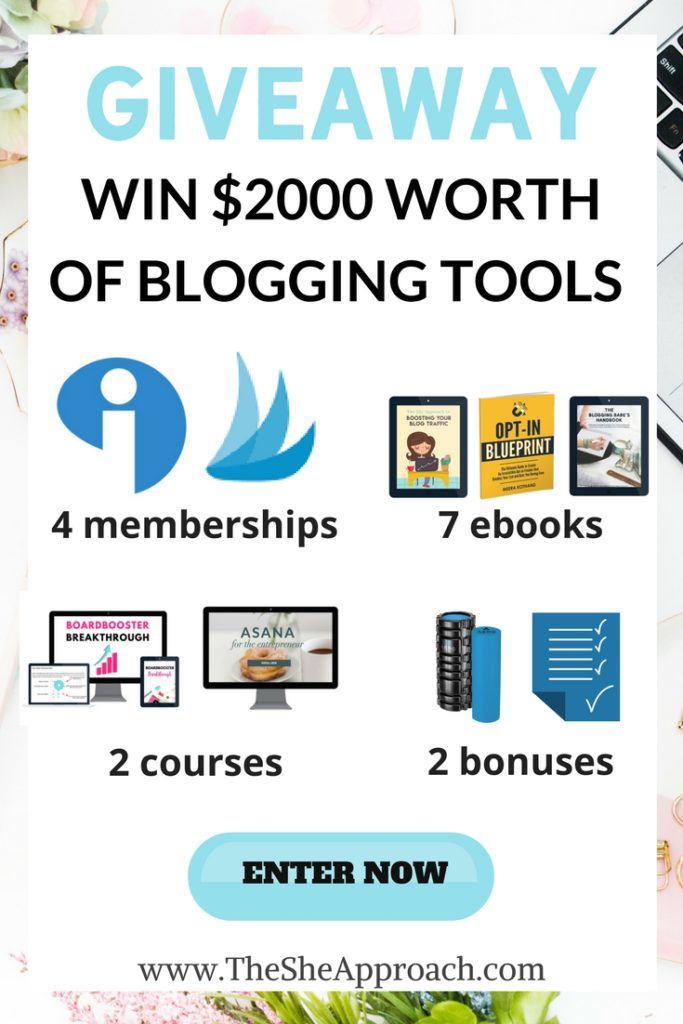 Enter this blogger's giveaway and win digital goods, blogging courses and ebooks and much more! Blogging tips and freebies. How to start a blog.