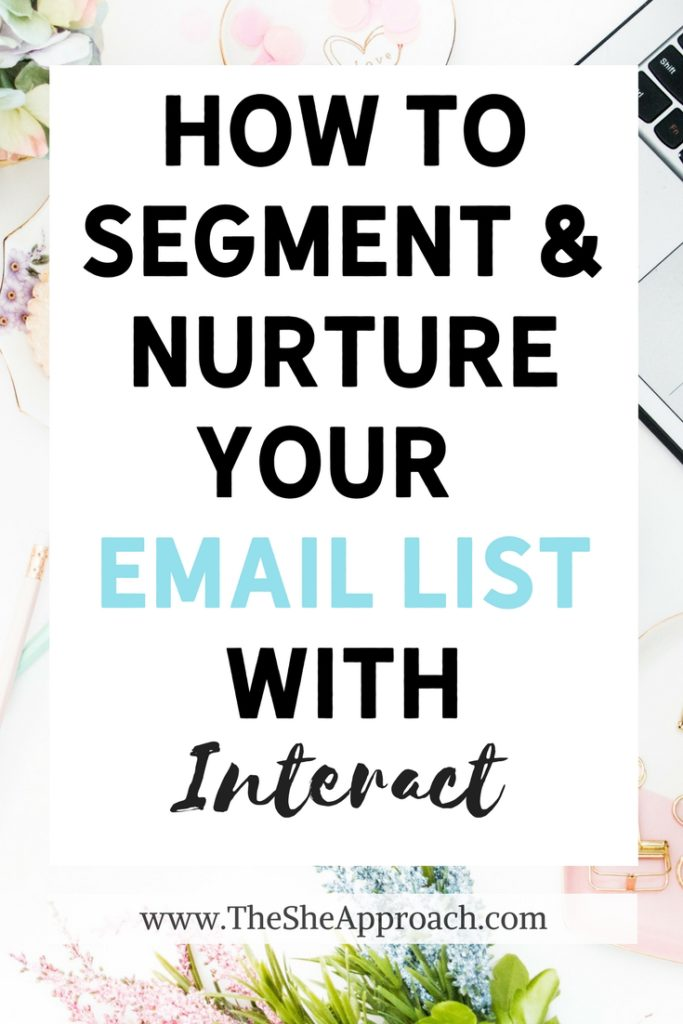 Email marketing tips for bloggers. Grow your email list. Segment and nurture your email list with interactive, online quizzes. Email marketing tutorial. #bloggingtips #emailmarketing